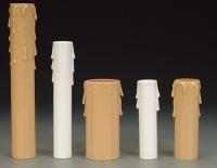 Decorative plastic tubes
