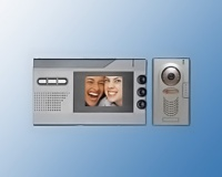 Four-wire Color Video Door Phone System
