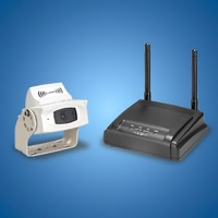 2.4GHz Wireless Car Vision Camera and Receiver Kit (B/W or Color)