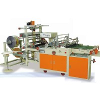 Servo Motor Driven Side Sealing Bag Making Machine
