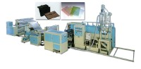 CPP THIN FILE AND PP THICK SHEET MAKING MACHINE