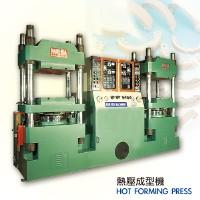Hot forming press
