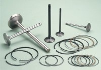 Engine Valves, Piston Rings