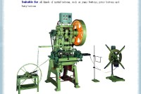 Press & Auto feed cradle for button making