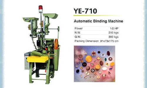 Automatic binding machine