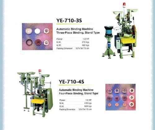 Automatic binding machine three-piecebinding, stand type