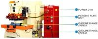 印刷電路板油壓沖孔脫料系統