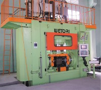 Stainless Bulge (Tee) Forming Machine