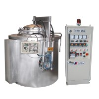 Electric control box for nitriding furnace
