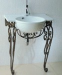 台面式瓷盆