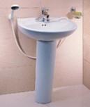 Wash Basin With Pedestal