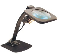 Magnifier lamp stand type