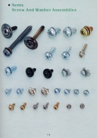 Sems,Screw And Washer Assemblies