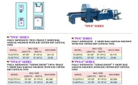 FULLY AUTOMATIC TWIN-TRACK T-SHIRT BAG MAKING MACHINE WITH DIE CUTTER HOT CUTTING TYPE