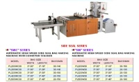AUTOMATIC HIGH SPEED SIDE SEAL BAG MAKING MACHINE WITH CONVEYER-STACKER