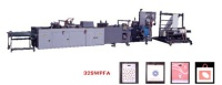 BAG MAKING MACHINE TO PRODUCE PATCH HANDLE BAGES, SOFT LOOP BAGS, DRAW BAGS AND DIE CUT BAGS.