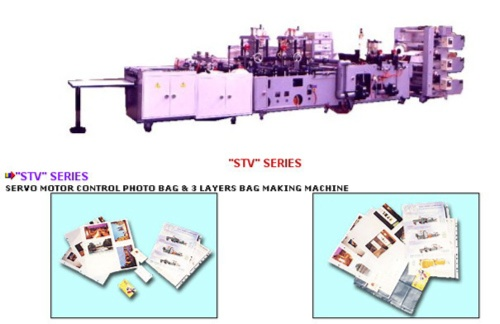SERVO MOTOR CONTROL PHOTO BAG & 3 LAYERS BAG MAKING MACHINE