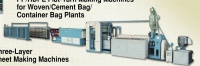 PP/HDPE Flat-Yarn Making Machines for Woven/Cement Bag/Container Bag Plants