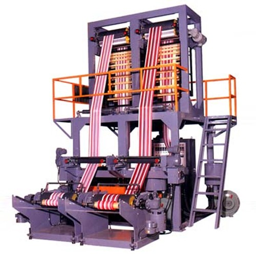 High Speed Two color & Twin Dies Inflation Machine
