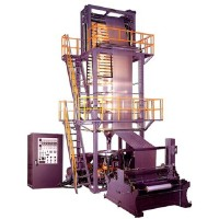HIGH SPEED TWO LAYER ROTARY INFLATION MACHINE