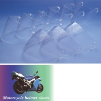 Motorcycle helmet visors