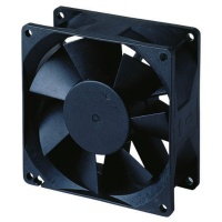 DC axial stationary blade fan