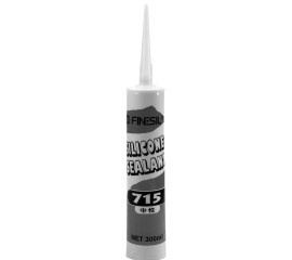 Mildew-resistant silicone sealant