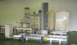 Robot stacking systems