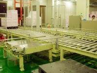 成品栈板作业生产线