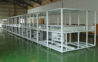 Glass substrate conveyors