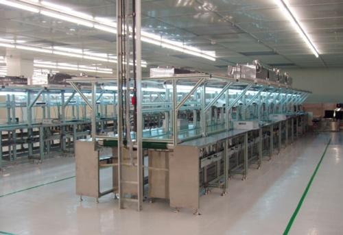 皮帶輸送組立生產線