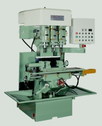 Three-Spindle Drilling & Tapping Machine