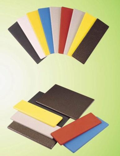 M.D.F. 中密度密集皮粉末涂装设备所完成之产品