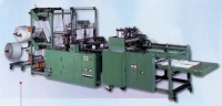 Double deck bag making machine