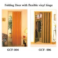 Folding Door with flexible vinyl hinge