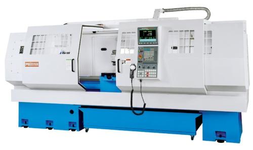 Flat bed CNC lathe