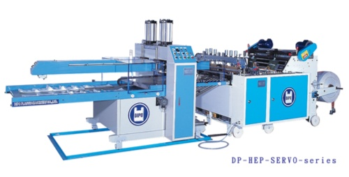 Servo control system Automatic T-Shirt Bags  Making Machine