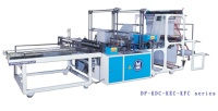 Double Layer High Speed T-shirt/ Flat Bags Making Machine