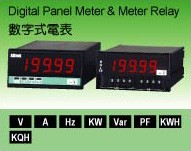 DIGITAL PANEL METER & METER RELAYS