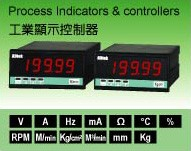 PROCESS INDICATOR & CONTROLLERS :