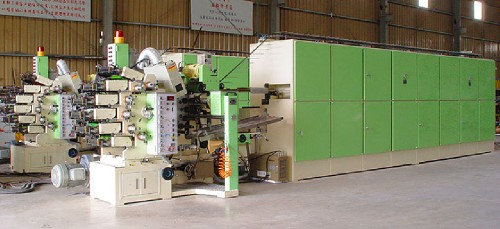 6 COLOR PRINTING,COATING & DRYING MACHINE