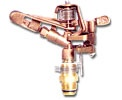 Brass Impulse Sprinkler