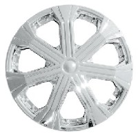 ABS WHEEL COVER, CHROME, SILVER