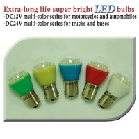 Extra-long life super bright LED bulbs