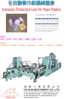 Automatic Production Line for Paper Napkin