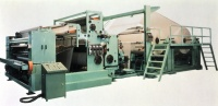High Speed Fully Automatic Toilet Paper Roll/ Kitchen Towel Rewinding And Perforating Machine