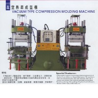 Vacuum Type Compression Molding Machine