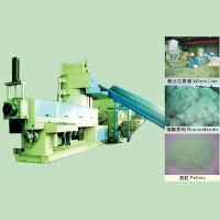 Film Recycling & Pelletizing Extruder