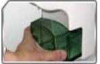 唯一有前置过滤滤心的桌上型电解水机,内建滤心更换简单方便