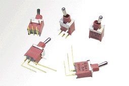 Miniature and Subminiature Toggle, Rocker and Push switches